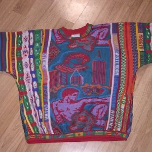Rare Vintage COOGI Multicolor Sweater